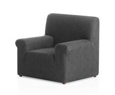 Bartali Stretch Sesselhusse Aitana- Farbe Grau -1 Sitzer (von 50 bis 90 cm)