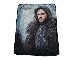 Game of Thrones-Decke, Überwurf, weicher Fleece, mit John Snow, 116,8 x 152,4 cm