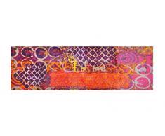 LifeStyle-Mat 200229 Alter Teppich, rutschfester und waschbarer Läufer, ideal für die Garderobe, Küche oder Schlafzimmer, 50 x 150 cm, violett