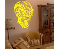 INDIGOS 4052166167789 Wandtattoo w918 Teufel der Hölle Wandaufkleber 120 x 82 cm, gelb