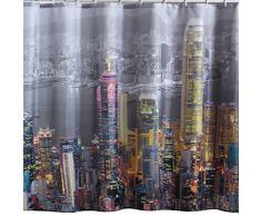 Hongkong 180Â x 200Â cm Dusche Vorhang + 12Â Haken