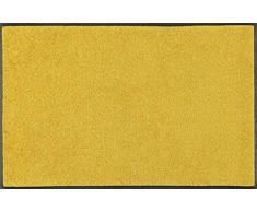 Wash + Dry Trend-Colour Honey Gold Fußmatte, Acryl, gelb, 75 x 120 x 0.7 cm