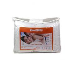 Dunlopillo COMIFH14020000DPO Duo-Maison Bettbezug, 140 x 200 cm, Weiß