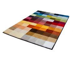 Kleine Wolke Cubetto Badteppich Polyacryl Mehrfarbig 85 x 145 cm