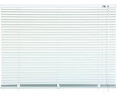 mydeco® 120 x 130 cm Aluminium Jalousie Weiß; inkl. Bedienstab, Deckenträger + Befestigungsmaterial Innenjalousie Sonnen- und Sichtschutz; fein regulierbar