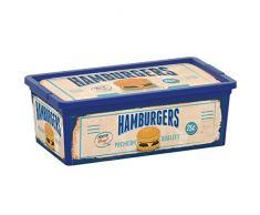Kiss Kis 8407000Â 1860Â 01Â C Box Stil Vintage Fast Food Aufbewahrungsbox Kunststoff Mehrfarbig 6Â L