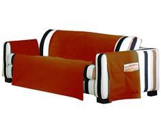 Eysa Lona LISO Sofa Überwurf 3 Sitzer Fb. 39-orange