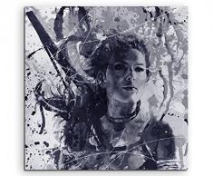 Paul Sinus Art Rise_of_the_Tomb_Raider_Art_60x60-SA Wandbild Leinwand, 90 x 50 x 3 cm, mehrfarbig