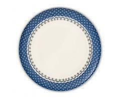 Villeroy & Boch Casale Blu Speiseteller, Premium Porzellan, blau/weiß, 27cm