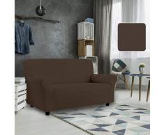 PETTE Sofabezug aus italienischem Stil 2 Posti (130 a 170 cm) Schlamm