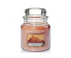 Yankee Candle 1344783E Duftkerze Glas, 9,50 x 9,50 x 13,80 cm, goldbraun,
