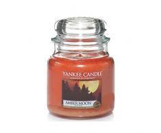 Yankee Candle Classic Housewarmer Mittel, Amber Moon, Duftkerze, Raum Duft im Glas / Jar, 1315046E