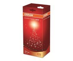 OSRAM LED Lichterkette für Innen- und Außenanwendung mit 80 Brennstellen / 5,5 Watt, Plastik, 2,20m Länge, Warmweißes Licht