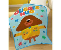 HEY DUGGEE Fleece Decke, Polyester, Multi, 100 x 150 cm