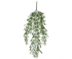 Mica decorations 1021027 Springeria Haengend - L76 cm Kunstpflanze, Plastik, grün, 76 x 21 x 21 cm