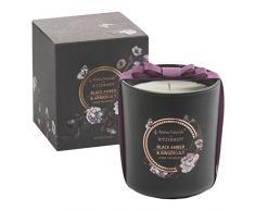 RITZENHOFF Aroma Naturals Noir Duftkerze, Black Amber & Ginger Lily, in Geschenkverpackung