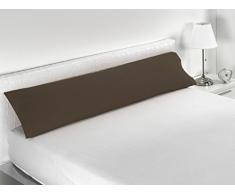Sabanalia Combina - Kissenbezug (in verschiedenen Größen und Farben erhältlich), Bett 150 - 170 x 45, Schokolade