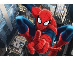AG Design FTDm 0715 Spider-Man Marvel,Papier Fototapete Kinderzimmer- 160x115 cm - 1 Teil, Papier, multicolor, 0,1 x 160 x 115 cm