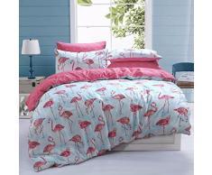 Sleep Down Bettwäsche-Set für Doppelbett, Baumwolle, Weiß