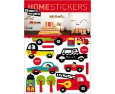 1art1 40088 Spielzeug - Autos Wand-Tatoos Aufkleber Poster-Sticker 70 x 50 cm
