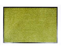 Proper Tex Uni Schmutzfangmatte / Türmatte / Fußabstreifer / robust / langlebig / für den Innenbereich - grün - 60 x 180 cm