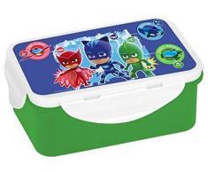 PJ Masks Brotdose, Brotbox, Lunchbox, Lunch-Box, PP, Mehrfarbig, 16x10,5x6,5cm,