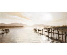 Pro-Art cp310r5 Wandbild Canvas-Art mountain lake, 115 x 55 cm
