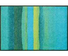 wash + dry 067764 Fußmatte Medley, 50 x 75 cm, acqua