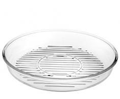 Borcam Grill Glas Auflaufform Rund Pasabahce Mikrowellen geeignet