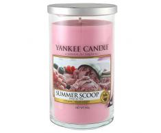 Yankee Candle Summer Scoop, Kerze, Glas, Rosa, 8,3 x 8 cm, 1 Einheiten