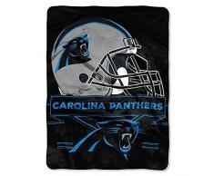 Nordwest-Carolina Panthers NFL Prestige Serie Royal Plüsch Raschel Überwurf Decke