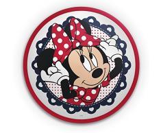 Philips Disney LED Deckenleuchte Minnie 7,5 W, schwarz / weiß / rot, 717613116