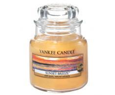 YANKEE CANDLE Sunset Breeze Duftkerze Glas orange 8.9 x 6 x 8.9 cm