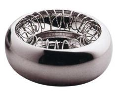 Alessi Spirale Aschenbecher aus Edelstahl glänzend poliert, 30.5 x 13 x 16.5 cm