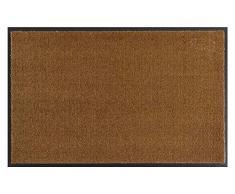 Hanse Home Waschbare Schmutzfangmatte Soft & Clean Caramel, 58x90 cm