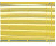 mydeco 62753 Vorhang Jalousie aluminium, 80 x 175 cm, gelb