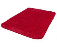 Kleine Wolke Badteppich, Rot, 60 x 90 cm