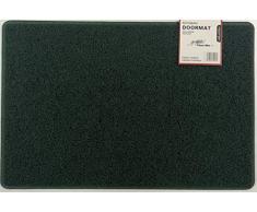 Nicoman Schmutzfänger Barrier Fußmatte schwere Bodenmatte-(Geeignet für Innen- und Schützen Außen), Mittel (75x44cm), Grün