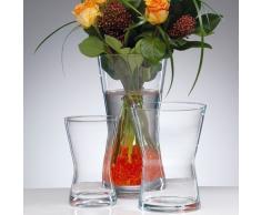 Sandra Rich Vase, Glas, transparent, 36.2 x 10.4 x 8.4 cm