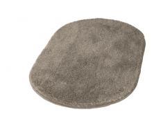 Kleine Wolke 5405271602 Badteppich Relax, 55 x 65 cm oval, taupe