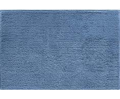 Grund Badteppich 100% Baumwolle, ultra soft, rutschfest, ÖKO-TEX-zertifiziert, 5 Jahre Garantie, MANHATTAN, Badematte 60x90 cm, jeansblau