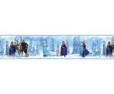 RoomMates RM-Disney Frozen Bordüre Wandtattoo, PVC, bunt, 23.5 x 13 x 2.5 cm