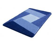 Kleine Wolke 4064712225 Badteppich Indiana, 70 x 120 cm, Sortiert azurblau