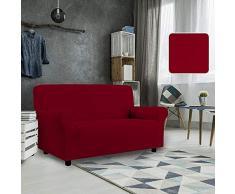 PETTE Sofabezug aus italienischem Stil 3 Posti (170 a 230 cm) rot