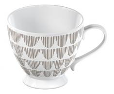 CREATIVE TOPS, La Cafetiere Wimpelkette Fine China Becher, Taupe