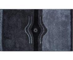 Grund Badteppich mit SWAROVSKI, 100% Polyacryl, ultra soft, rutschfest, CRYSTAL LIGHT, Badematte 70x120 cm, anthrazit