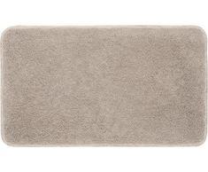 Grund Badteppich 32 mm 100% Polyacryl, ultra soft, rutschfest, ÖKO-TEX-zertifiziert, 5 Jahre Garantie, LEX, Badematte 70x120 cm, taupe