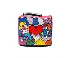 Goebel 66450461 Romero Britto Vase - Heart Kids