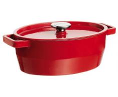 Slow Cook Kasserolle 3,8l red