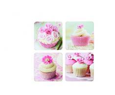 Kitchen Craft Cupcake Untersetzer Kork, laminiert